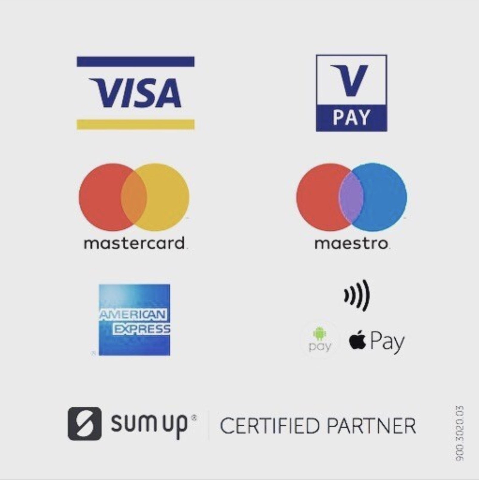 We accept card payments with payleven